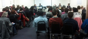 Panelists discuss organizing against cuts at local and provincial level