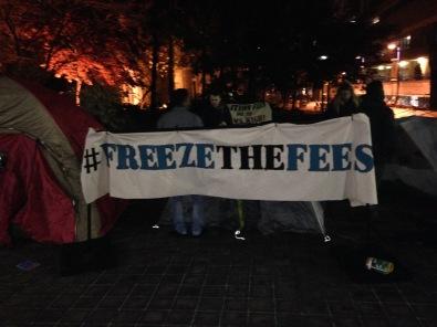 Freeze the Fees RSU Photo